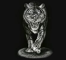 Stalking Tiger From theShadows Unisex T-Shirt