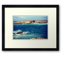 Laie Point in Oahu, Hi Framed Print