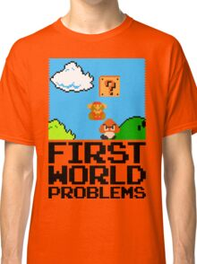 First World Problems (Black) Classic T-Shirt