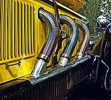 Detail of a 1928 Mercedes by cclaude