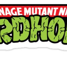 Teenage Mutant Ninja Turdholes Sticker
