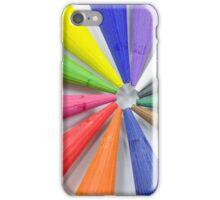 Woodless Colored Pencil Heads Macro Closeup iPhone Case/Skin
