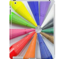Woodless Colored Pencil Heads Macro Closeup iPad Case/Skin