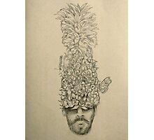 Pineapple Head Photographic Print