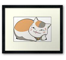 Natsume Yuujinchou: Nyanko Sensei Framed Print