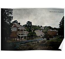 Clarke Street Hill End Poster