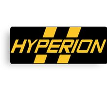 Hyperion Yellow Canvas Print