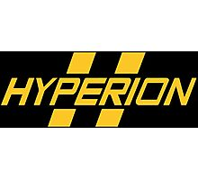 Hyperion Yellow Photographic Print