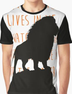 The Lion King - He Lives in You Lyrics Graphic T-Shirt