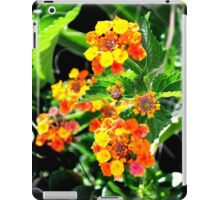 MULTI-COLORED LANTANA PLANT iPad Case/Skin