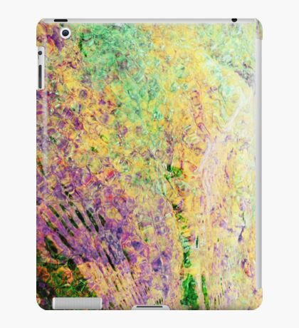 Bright ripples through the water iPad Case/Skin