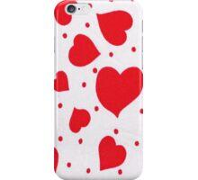 Hearts 1 iPhone Case/Skin