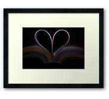 Book of Love Framed Print