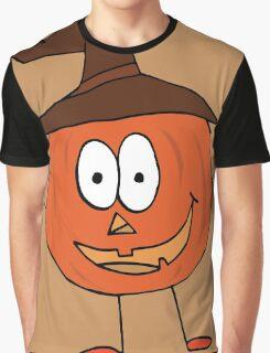 Thanksgiving Pumpkin Graphic T-Shirt