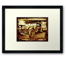 Oul Bentley in the Square! Framed Print