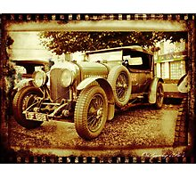 Oul Bentley in the Square! Photographic Print