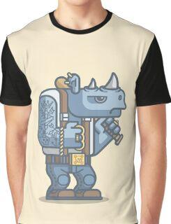 Thug Rhino Graphic T-Shirt