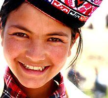 little girl,tashkurgan, XinJiang, China by Ann Wang