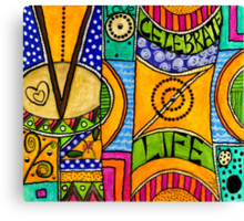 Living a VIBRANT Life Canvas Print