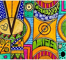 Living a VIBRANT Life Photographic Print