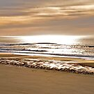 Sun Softly Setting On The Tides by scenebyawoman