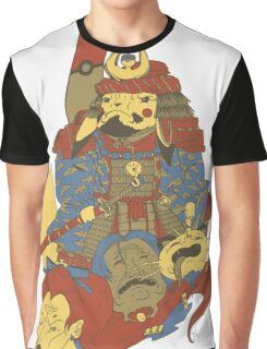 Avenging Samurai Pikachu Graphic T-Shirt