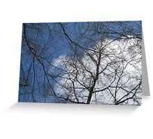 A Dutch Sky in April Greeting Card