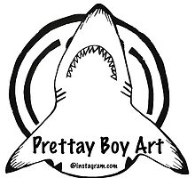 Shark logo  by Prettayboyart