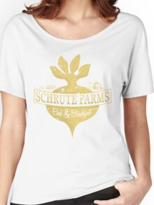 Schrute Farms B&B (no circles) Women's Relaxed Fit T-Shirt