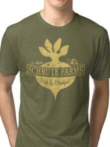 Schrute Farms B&B (no circles) Tri-blend T-Shirt