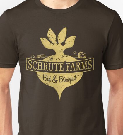 Schrute Farms B&B (no circles) Unisex T-Shirt