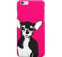 Zoe the Chihuahua Cartoon Portrait iPhone Case/Skin