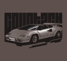 Halftone Countach T-Shirt