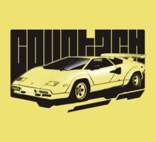 Halftone Countach Kids Clothes