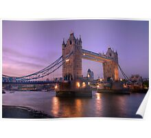 Tower Bridge at Sunset II, London, UK Poster