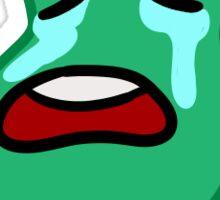 Pessimistic Pear Sticker
