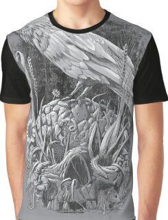White Raven Graphic T-Shirt