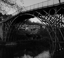Iron Bridge B&W by yampy