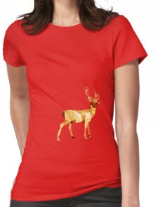 golden deer Womens Fitted T-Shirt