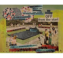 off from the start Photographic Print