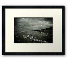 Winter Beach #3 Framed Print