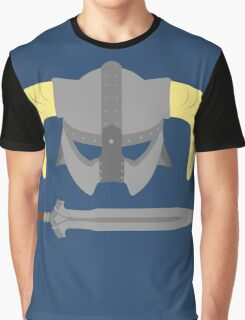 Iron helmet & imperial sword Graphic T-Shirt