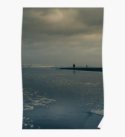 Winter Beach #7 Poster