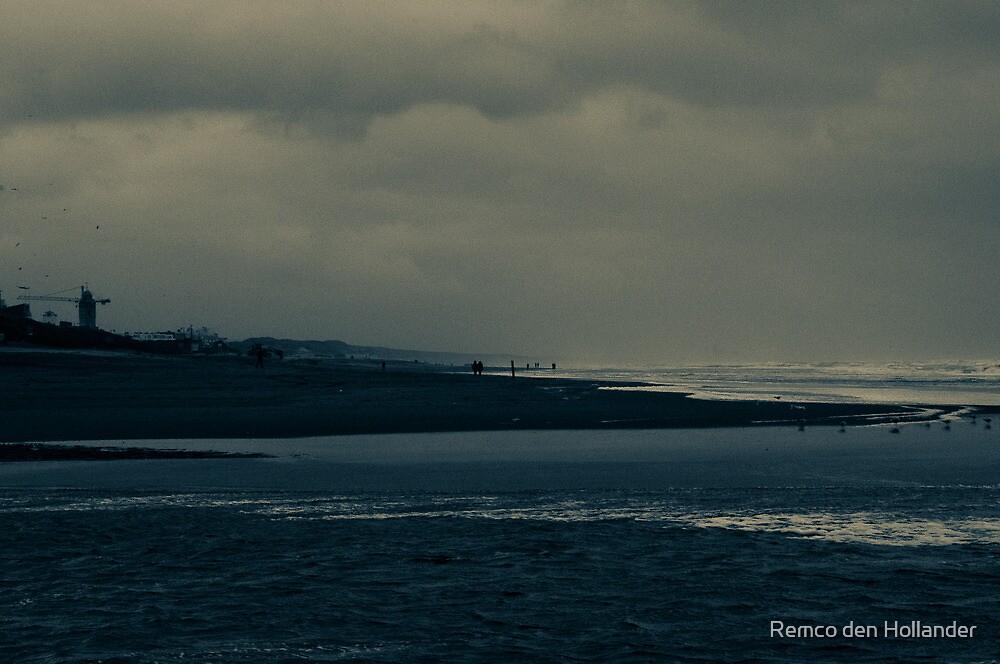 Winter Beach #9 by Remco den Hollander