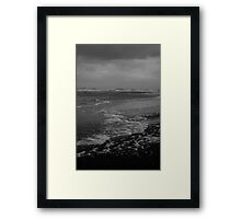 Winter Beach #10 Framed Print