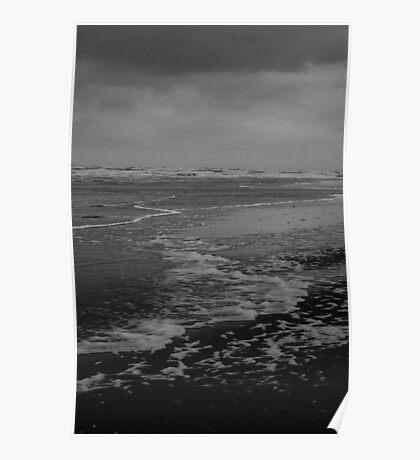 Winter Beach #10 Poster