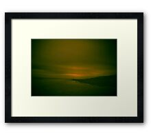 Winter Beach #12 Framed Print