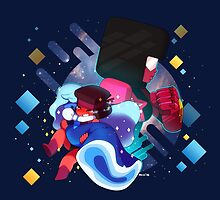 Ruby and Sapphire Made of Love by SicklyPrince