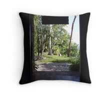 Old Property, Cuba Throw Pillow