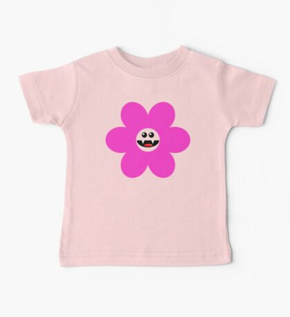 SAVAGE FLOWER PINK Baby Tee